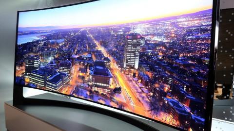 L'écran incurvé révolutionne la télévision