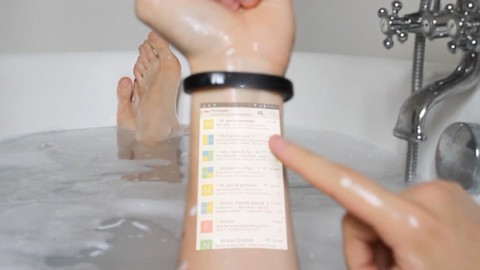 Cicret, le bracelet-projecteur de smartphone !
