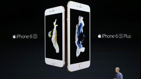 Apple dévoile les iPhone 6S et 6S Plus