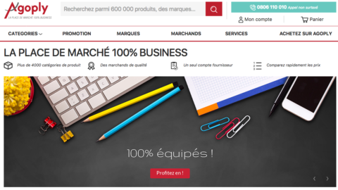 Agoply : La marketplace des sites marchands professionnels