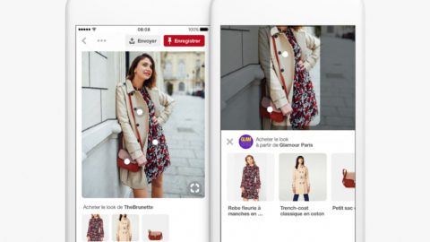 Shop The Look : Pinterest se lance à l'assaut du e-commerce